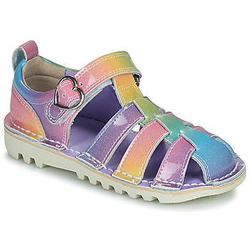 Shoes Girl Sandals Kickers KICK HI SANDAL Multicoloured