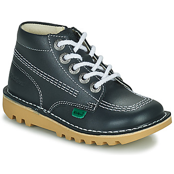 Shoes Children Hi top trainers Kickers KICK HI ZIP Blue