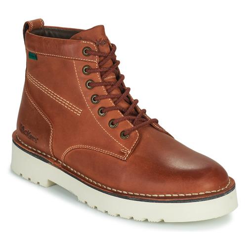 Shoes Men Hi top trainers Kickers DALTREY BOOT Brown