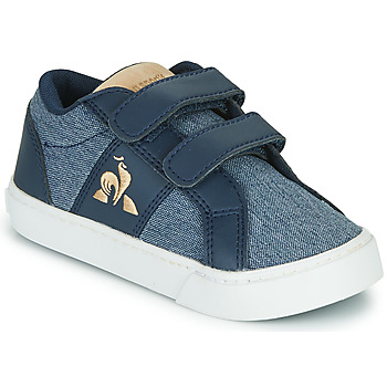Shoes Children Low top trainers Le Coq Sportif VERDON CLASSIC INF Blue