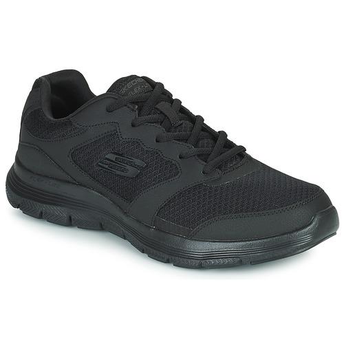 Shoes Men Low top trainers Skechers FLEX ADVANTAGE 4.0  black