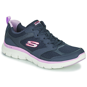 Shoes Women Low top trainers Skechers FLEX APPEAL 4.0 Blue