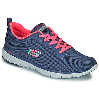 Shoes Women Low top trainers Skechers FLEX APPEAL 3.0 FIRST INSIGHT Blue