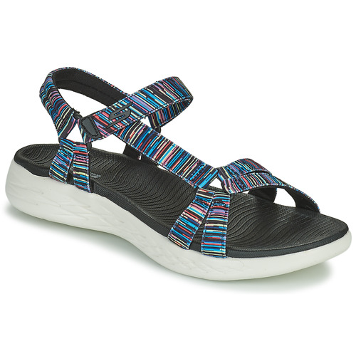 Shoes Women Sandals Skechers ON THE GO 600 ELECTRIC Multicoloured