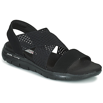 Shoes Women Sandals Skechers FLEX APPEAL 2.0 COOL CITY  black