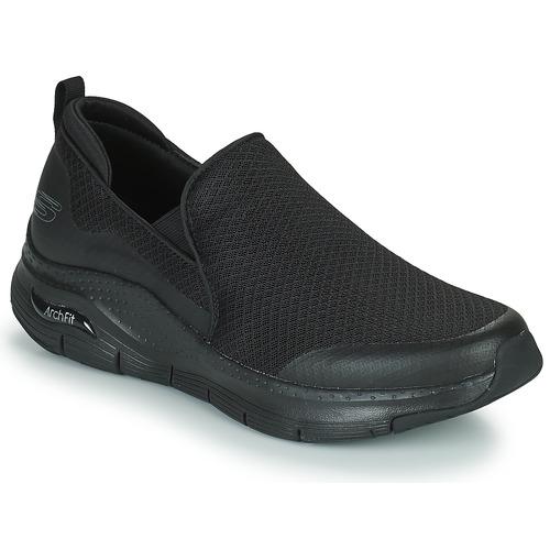 Shoes Men Low top trainers Skechers ARCH FIT BANLIN  black
