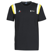 Clothing Men Short-sleeved t-shirts Le Coq Sportif RENAULT FANWEAR 20 Tee SS M Black