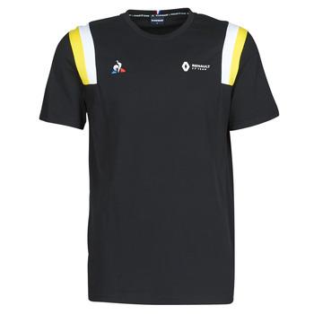 Clothing Men Short-sleeved t-shirts Le Coq Sportif RENAULT FANWEAR 20 Tee SS M Black