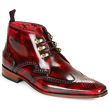 Shoes Men Mid boots Jeffery-West SCARFACE Red