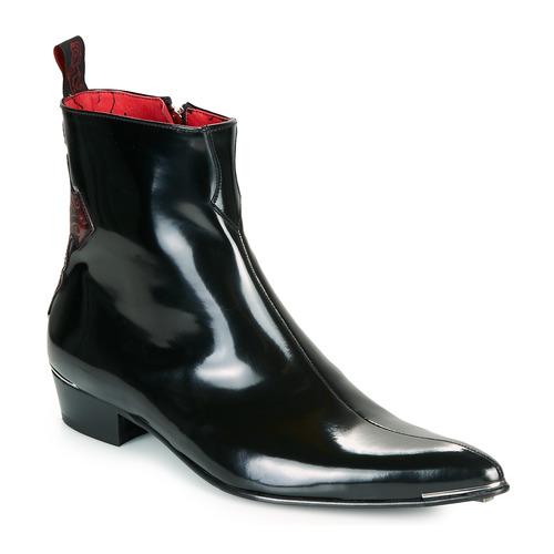 Shoes Men Mid boots Jeffery-West ADAMANT  black / Red