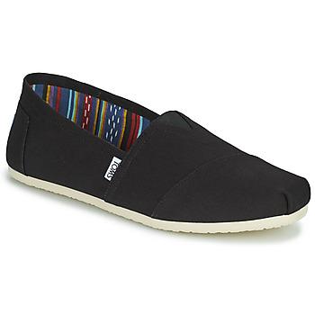 Shoes Men Espadrilles Toms CORE  black