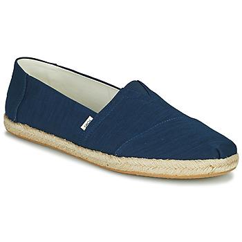 Shoes Men Espadrilles Toms ALPARGATA ROPE Blue