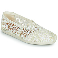 Shoes Women Espadrilles Toms ALPARGATA Beige
