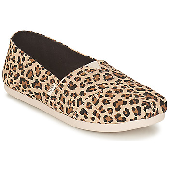 Shoes Women Espadrilles Toms ALPARGATA Brown