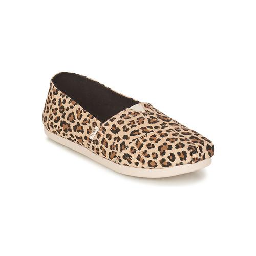 Shoes Women Espadrilles Toms ALPARGATA Leopard