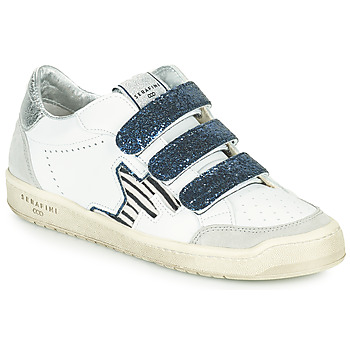 Shoes Women Low top trainers Serafini SAN DIEGO White / Blue