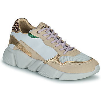 Shoes Women Low top trainers Serafini OREGON White / Gold
