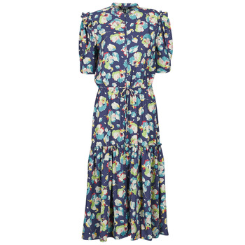 Clothing Women Long Dresses Lauren Ralph Lauren BAYZEE Multicolour
