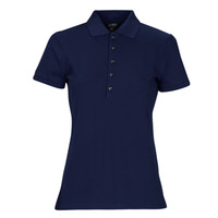 Clothing Women Short-sleeved polo shirts Lauren Ralph Lauren KIEWICK Blue