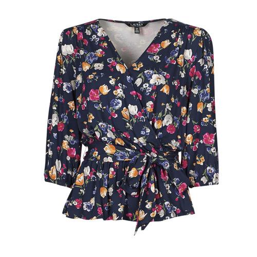 Clothing Women Short-sleeved t-shirts Lauren Ralph Lauren SHIANETA Multicolour