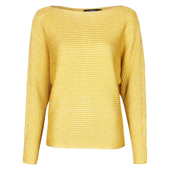 Clothing Women Jumpers Lauren Ralph Lauren VINZIA Gold