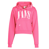 Clothing Women Sweaters Vans WM KAYE CROP HOODIE Pink