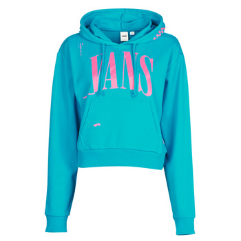 Clothing Women Sweaters Vans WM KAYE CROP HOODIE Blue