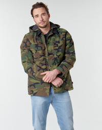 Clothing Men Jackets Vans DRILL CHORE COAT MTE Camo