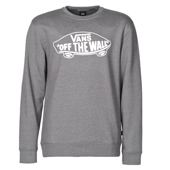 Clothing Men Sweaters Vans OTW CREW II Asphalt / Heather