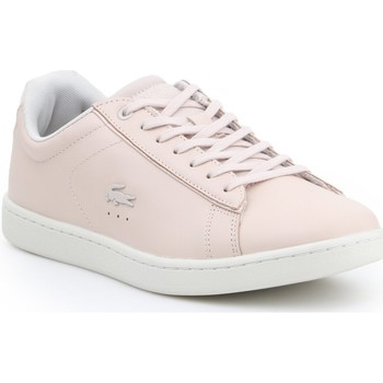 Shoes Women Low top trainers Lacoste Carnaby Evo 417 1 SPW 7-34SPW001315J pink