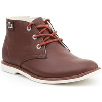 Shoes Women Mid boots Lacoste Sherbrook HI SB SPJ 7-30SPJ101177T brown
