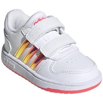 Shoes Children Low top trainers adidas Originals Hoops 20 Cmf I White