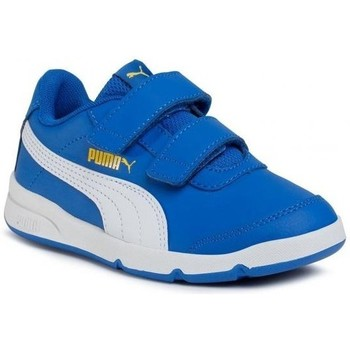 Shoes Children Low top trainers Puma Stepfleex 2 SL VE V PS White,Blue