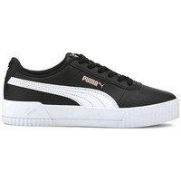 Shoes Children Low top trainers Puma Carina L JR White,Black