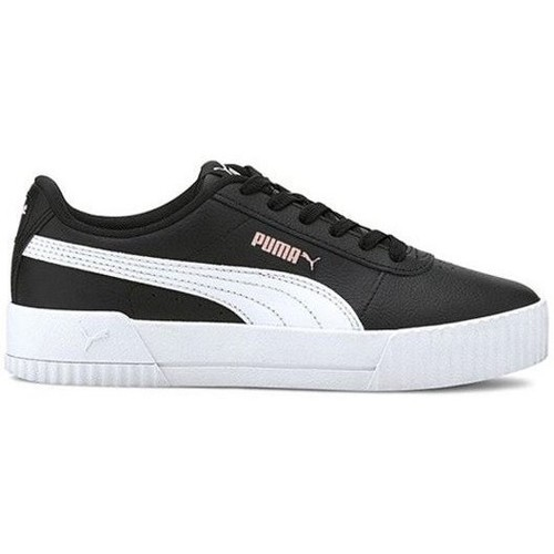 Shoes Children Low top trainers Puma Carina L JR Black