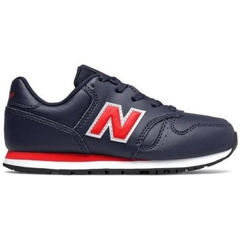 Shoes Boy Low top trainers New Balance 373 Black, Red