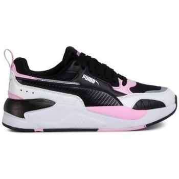 Shoes Children Low top trainers Puma Xray 2 Square JR White,Black,Pink