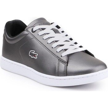 Shoes Women Low top trainers Lacoste Carnaby Evo 317 Silver