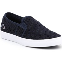 Shoes Women Slip-ons Lacoste Gazon 219 1 Cfa Navy blue
