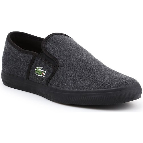 Shoes Men Slip-ons Lacoste Gazon Sport Csu 2 Spm Graphite