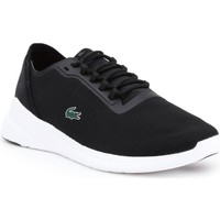Shoes Men Low top trainers Lacoste LT Fit 118 Black