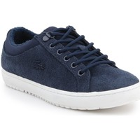 Shoes Women Low top trainers Lacoste Straightset Insulate 319 1 Cfa Navy blue