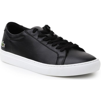Shoes Men Low top trainers Lacoste L1212 116 1 Cam Black