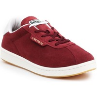 Shoes Women Low top trainers Lacoste Masters 319 1 Sfa Burgundy
