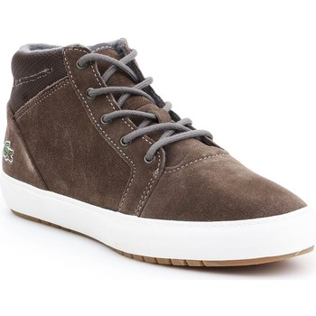 Shoes Women Hi top trainers Lacoste Ampthill Chukka 417 1 Caw Grey