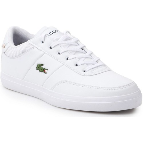 Shoes Men Low top trainers Lacoste Courtmaster 118 2 Cam White