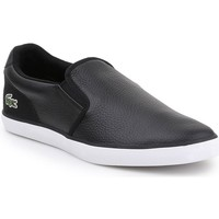 Shoes Men Slip-ons Lacoste Jouer Slip 319 1 Cma Black