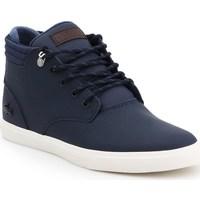 Shoes Men Hi top trainers Lacoste Esparre Winter C 319 1 Cma Navy blue