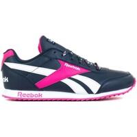 Shoes Children Low top trainers Reebok Sport Royal Cljog 2 White,Navy blue,Pink