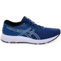 Shoes Men Running shoes Asics Gel Excite 7 Twist White,Navy blue